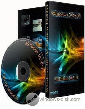 Windows XP Professional SP3 AS Edition (2011)