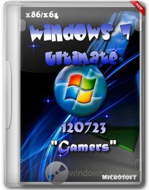 Windows 7 Ultimate SP1 Rus игровой