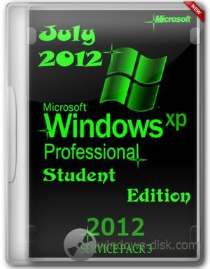 Windows Xp Pro Sp3 Corporate Student (2012)