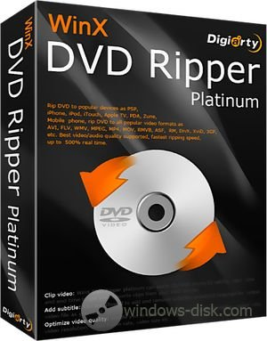 WinX DVD Ripper Platinum 6.9.1 Final