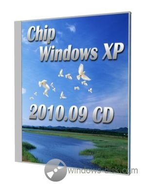 Chip Windows XP 2010.09 CD
