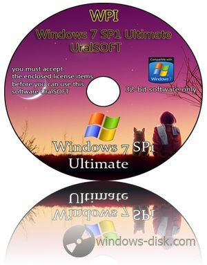 Windows 7 x86 UralSOFT