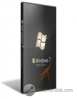 Windows 7 Professional SP1 (х86) Media Studio v3