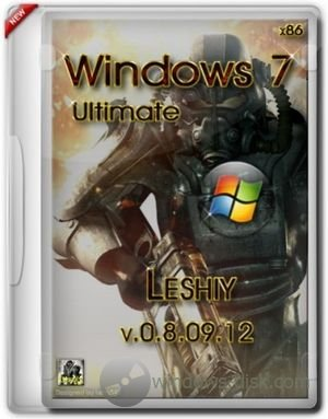 Windows 7 Ultimate SP1 (x86) Leshiy v.0.8.09.12